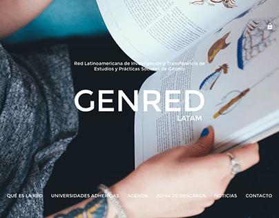 Full UX/UI genre web design
