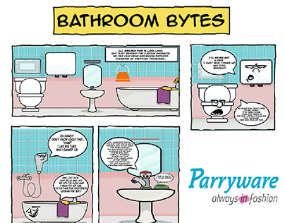 Bathroom Bytes - A Comic Series