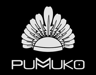 Diseño de marca de ropa Pumuko