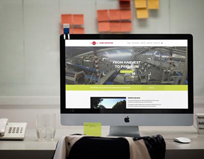 EAMS Industrie : Webdesign & Website