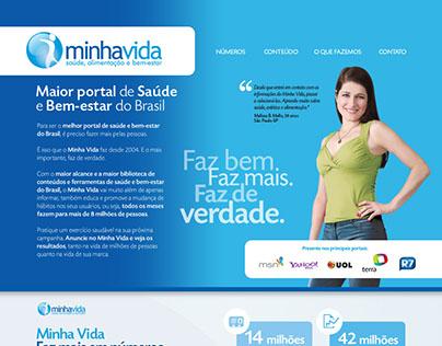 Anúncio Interativo e Hot Site comercial