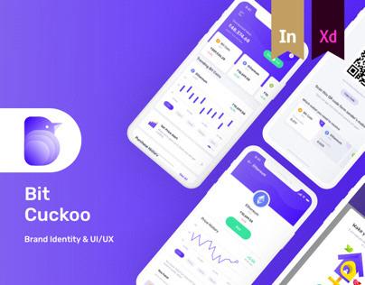 Free UI kit for bit coin app