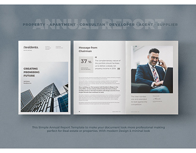 Real Estate Annual Report