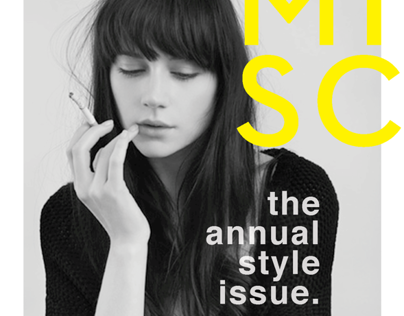 MISC Magazine Redesign