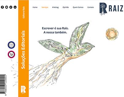 Editora Raiz - Website