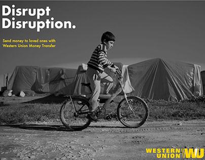Western Union - Disrupt Disruption