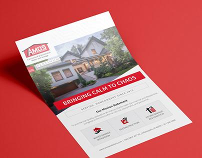 AMOS Flyer Design