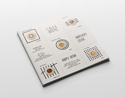 café hostel coffee menu