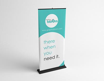 Roll Banner Design & Mock Up free Psd