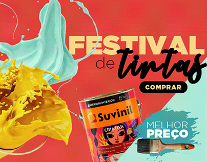 Campanha - Festival de Tintas