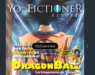 Revista Yo:Fictioner (Especial de Dragon Ball)
