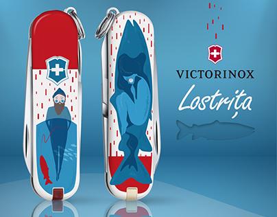 victorinox ilustration.