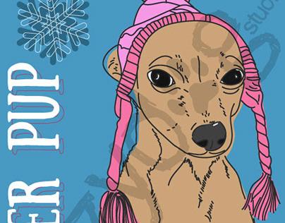 Winter Pup