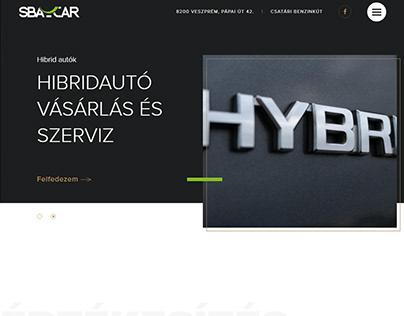 sba car ux / web design