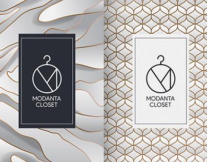 Modanta Closet Logo