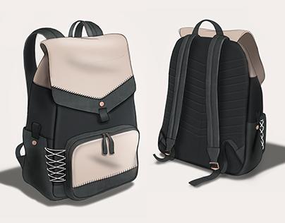 Everlane Premium Snap Backpack