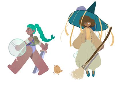 Hero, Wizard & Explorer