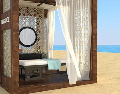 Soma bay Massage booth