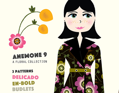 Anemone 9: Floral Collection