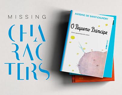 Missing Characters | Livraria Cultura + Mães da Sé