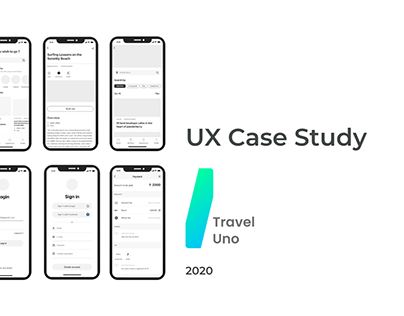 Travel UNO - Ux case study