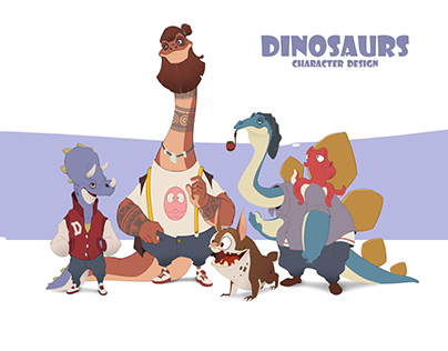 Dinosaurs (character design)