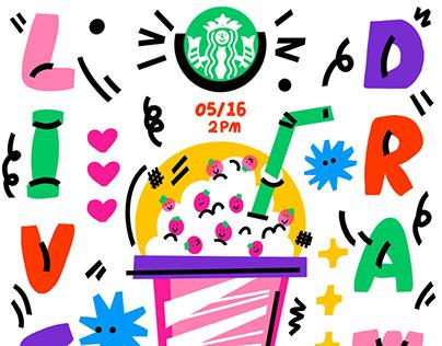 Illustration for Starbucks Reserve in Shanghai