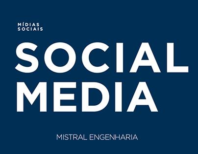 Mídias sociais - Mistral engenharia