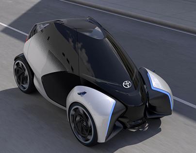 TOYOTA i-TRIL Concept Car