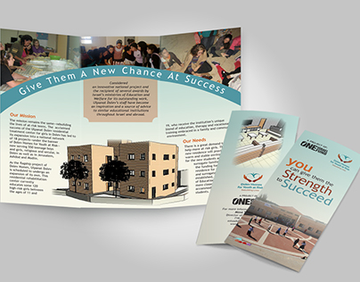 Dolev Homes for Youth at Risk Promotional Brochure