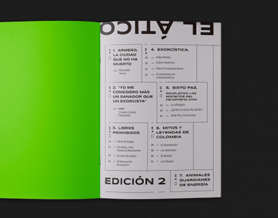 El Ático - Editorial Magazine