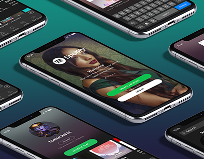 Spotify UI/UX Design