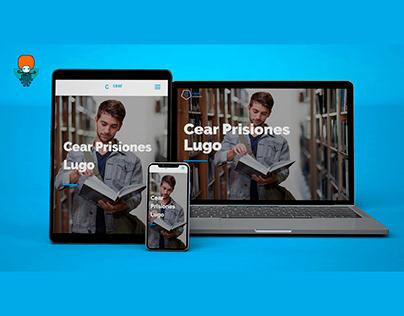 Web Design for Cear Prisiones