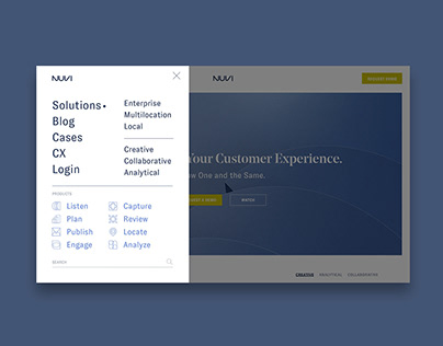 Nuvi Enterprise Software Branding