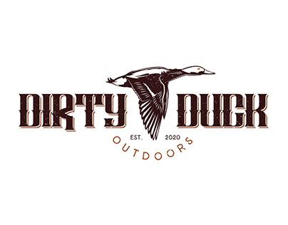 Dirty Duck Logo, a hunting club