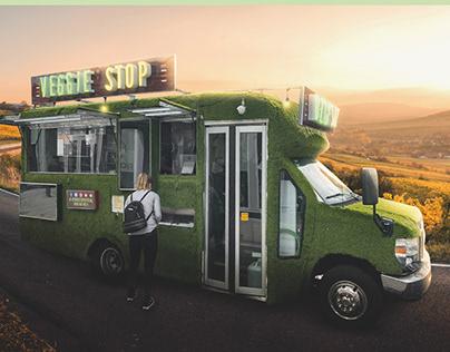Veggie Stop Branding