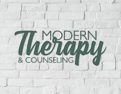 Modern Therapy Brand Identity & Web Design