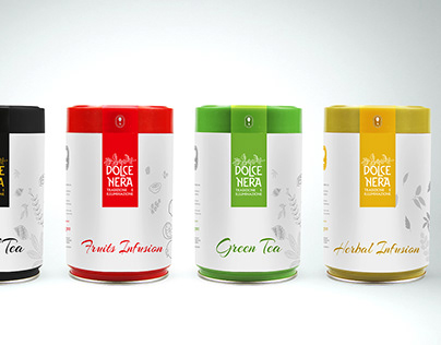 Tea Packaging Dolce Nera