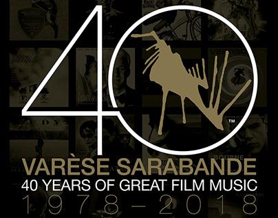 VARÈSE SARABANDE 40 Years Of Great Film Music