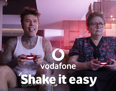 Vodafone | Shake it easy | Tv and digital campaign