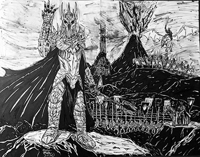 Sauron and the Armies of Mordor