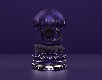 Ultra-Violet Spaceman   Small Worlds