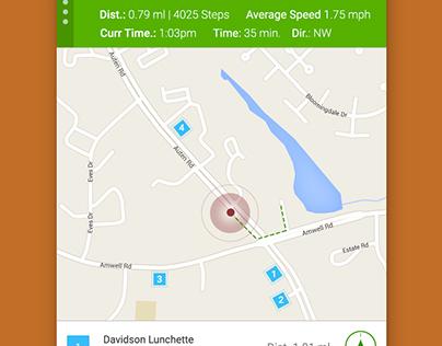 Dailyui #020 - Location Tracker