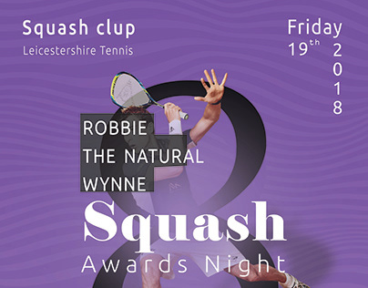 squash clup flyer