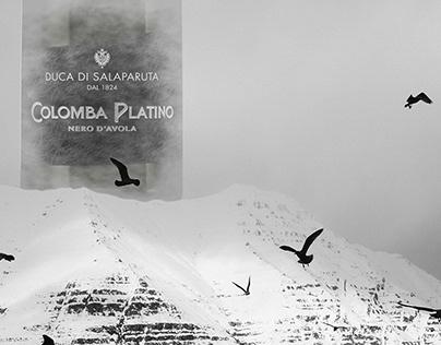 Colomba Platino Nero d'Avola Label