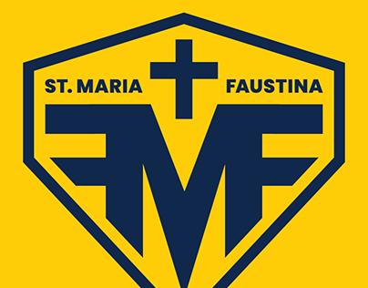St. Maria Faustina School Logo Design