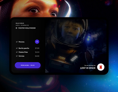 Movieats. Food & Netflix pairings app