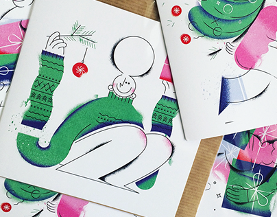 Holiday Cards for PIESKOT