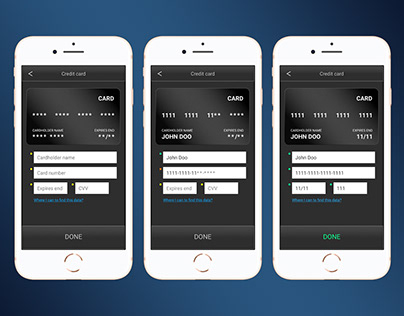 100 UI solutions for Daily UI Challenge