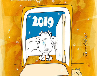 Calendar 2019 - Year of the Pigs